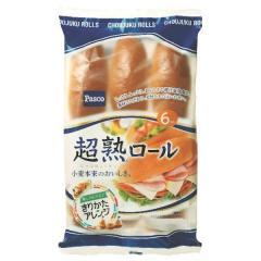 パスコ 超熟ロール (6コ入)