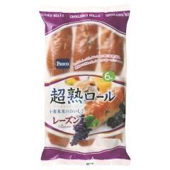 パスコ 超熟ロール レーズン (6コ入)