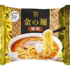 セブンゴールド 金の麺 味噌味 (116g)