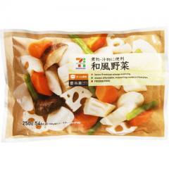 セブンプレミアム 和風野菜 (250g)