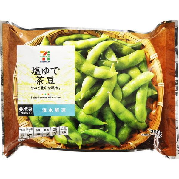 セブンプレミアム 塩ゆで茶豆 (280g)