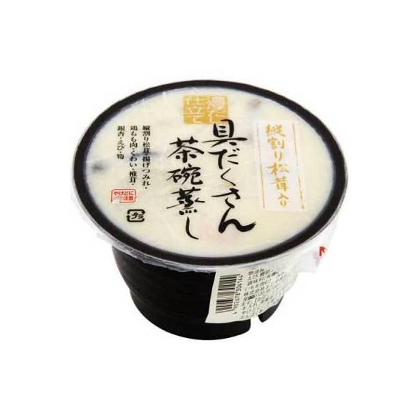 ふじや 具だくさん茶碗蒸し 縦割り松茸入 (210g)