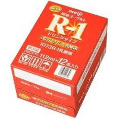 明治プロビオヨーグルト R-1ケース売り(112ml×12本)