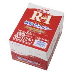 明治プロビオヨーグルトR-1ドリンクタイプ 低糖・低カロリー (112ml×12)ケース売り