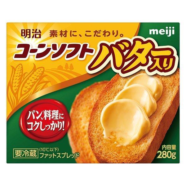 明治 コーンソフトバター入り (280g)