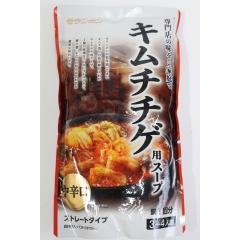 キムチチゲ用スープ 中辛口 750g