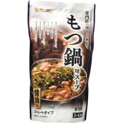 モランボン もつ鍋用スープ(醤油味) (750g)
