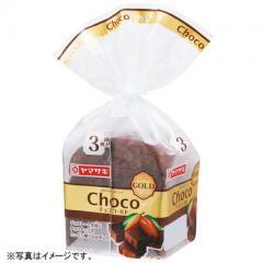 ヤマザキ チョコゴールド 3枚切り (小型)山崎製パン横浜工場製造品