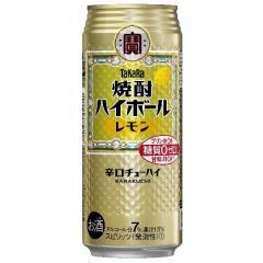 宝酒造 焼酎ハイボール レモン 1缶(500ml)