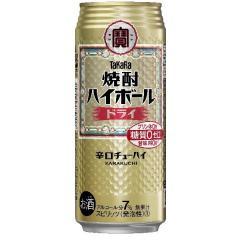 宝酒造 焼酎ハイボール ドライ 1缶(500ml)
