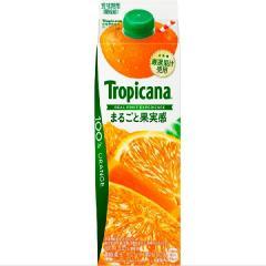 トロピカーナ 100%まるごと果実感 オレンジ 1本(900ml)