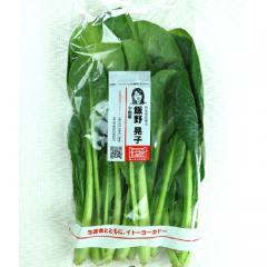 【有機野菜】小松菜 1袋 群馬県などの国内産『顔が見える野菜。』【バイヤー厳選】