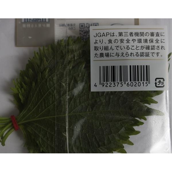 大葉 1袋(10枚入)大分県産『顔が見える野菜。』