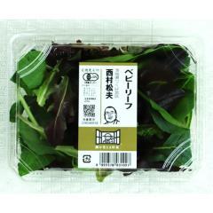 【有機野菜】ベビーリーフ 1パック(約25g)茨城県などの国内産『顔が見える野菜。』【バイヤー厳選】
