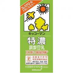 キッコーマン 特濃調製豆乳 1本(1000ml)