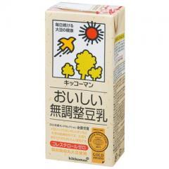 キッコーマン 無調整豆乳 1本(1000ml)