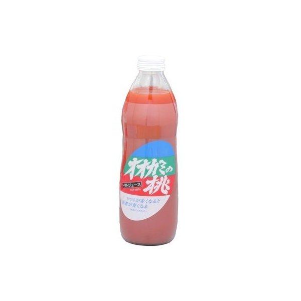 鷹栖町農業振興公社 トマトジュース オオカミの桃 1本(1L)