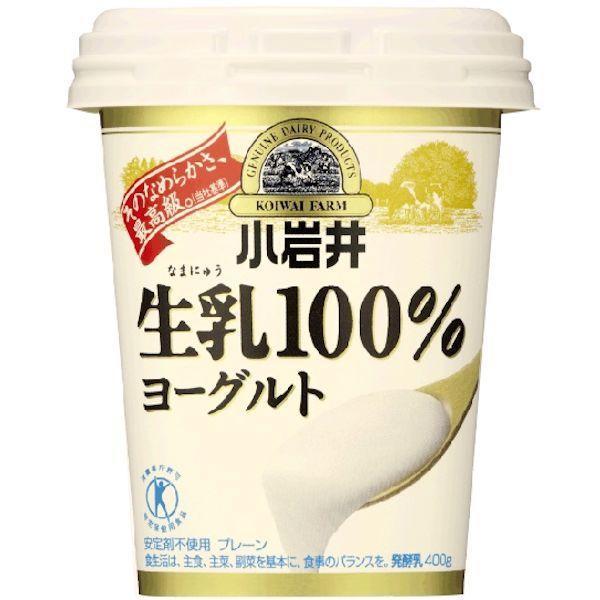 小岩井 生乳100%ヨーグルト (400g)
