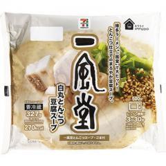 セブンプレミアム 一風堂 白丸とんこつ豆腐スープ (327g)
