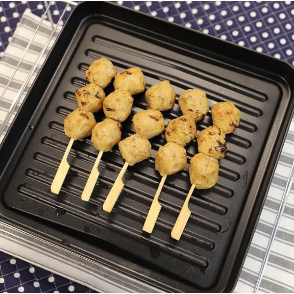 冷凍炭火焼やきとり(つくね/素焼)5本入