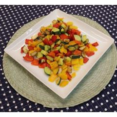 <ミールキット用こだわり冷凍野菜>グリル野菜ミックス(イタリア産)400g(チャック付)