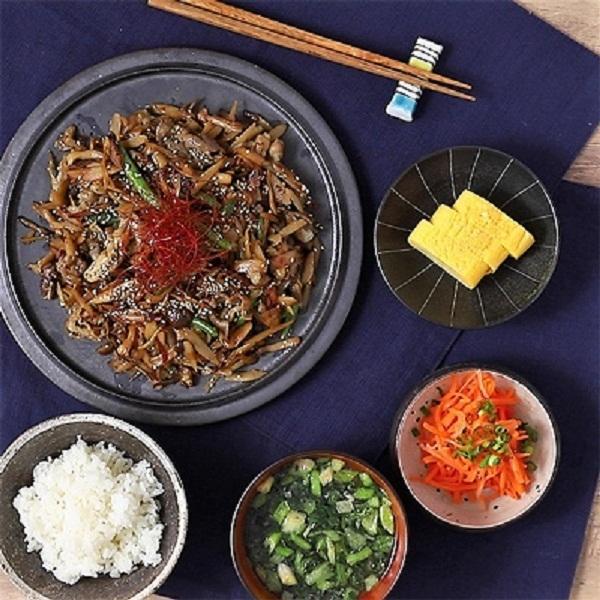 <冷凍2人前×2セット>生姜たっぷり牛肉のしぐれ煮<カット済野菜・計量済調味料>