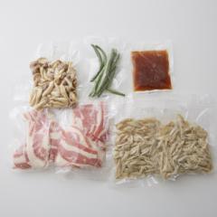 <冷凍2人前>生姜たっぷり牛肉のしぐれ煮<カット済野菜・計量済調味料>
