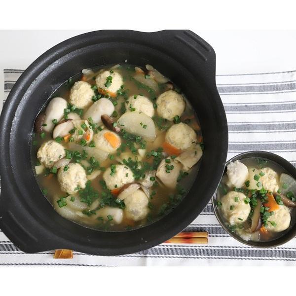 <冷凍4人前×2セット分>鶏だんごと根菜のポカポカ生姜だし鍋