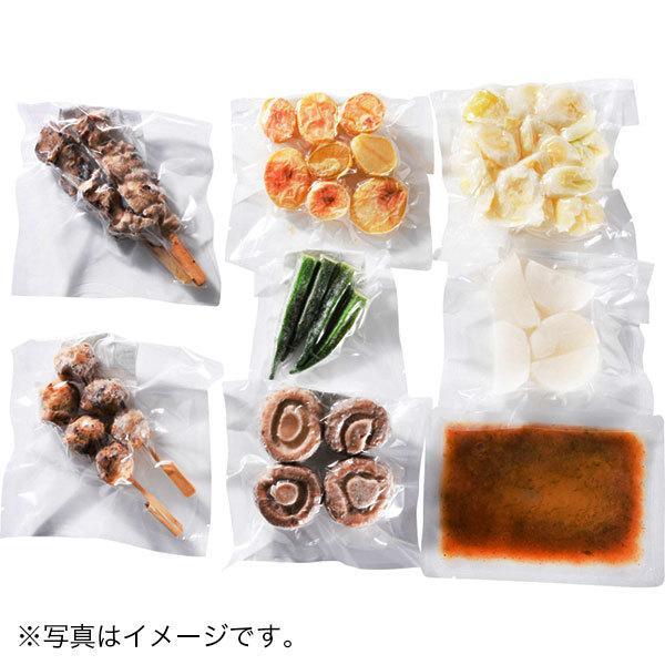 <冷凍2~3人前×2セット分>胡麻の風味豊か!旨塩やきとり鍋<土鍋直径21cm使用>