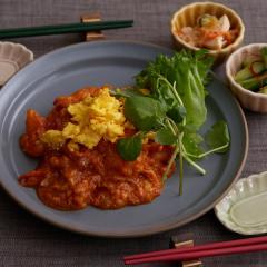 <冷凍2人前>卵でまろやか♪はじめてのエビチリ(甘口)<調理時間15分>【バイヤー厳選】