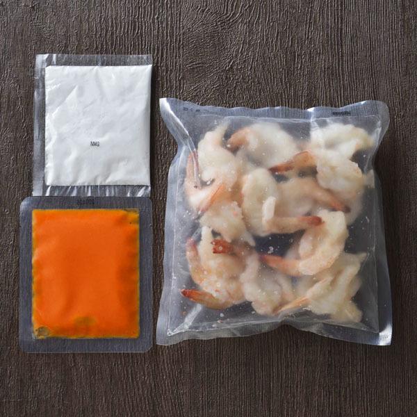 【冷凍ミールキット】ご家庭にあるマヨネーズで本格エビマヨ(2~3人前)<調理時間約15分>【バイヤー厳選】