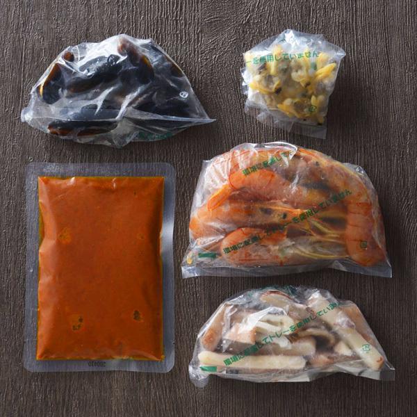 【冷凍ミールキット】炊飯器で簡単♪海鮮の旨み!豪華シーフードパエリア(米3合分)<調理時間約20分+炊飯時間>【バイヤー厳選】