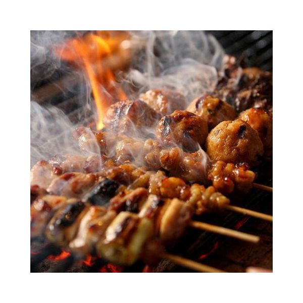 <本日調理したお惣菜をお届け>炭火焼やきとり(ぼんじり串・タレ)1本【16時~22時時間指定商品】