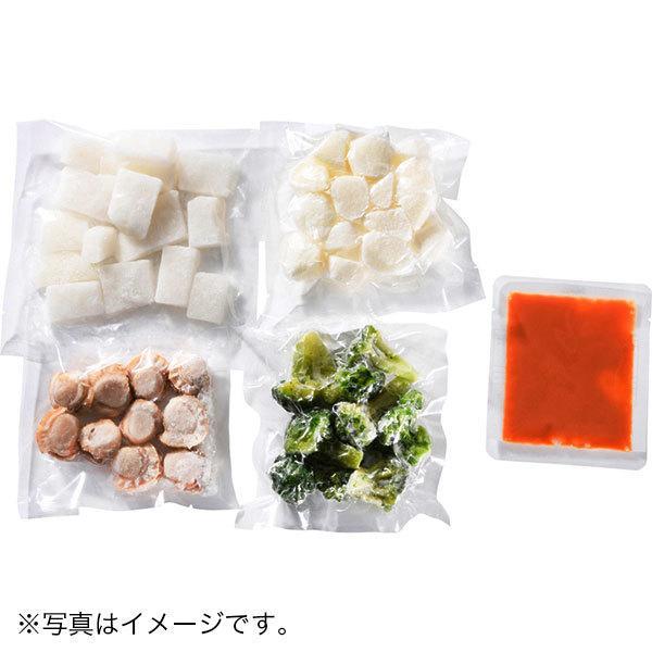 <冷凍4人前>海鮮と山芋のマヨ仕立て(4人前)<カット済野菜・計量済調味料>