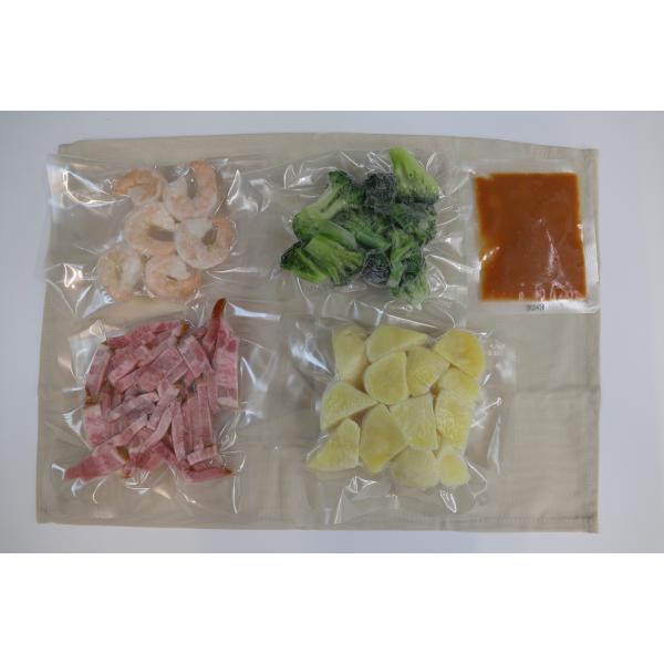 <冷凍4~6人前>iyフレッシュおすすめファミリーセット(ブイヤベース・ポテマカホットサラダ・オムドリア・ガリバタチキン)