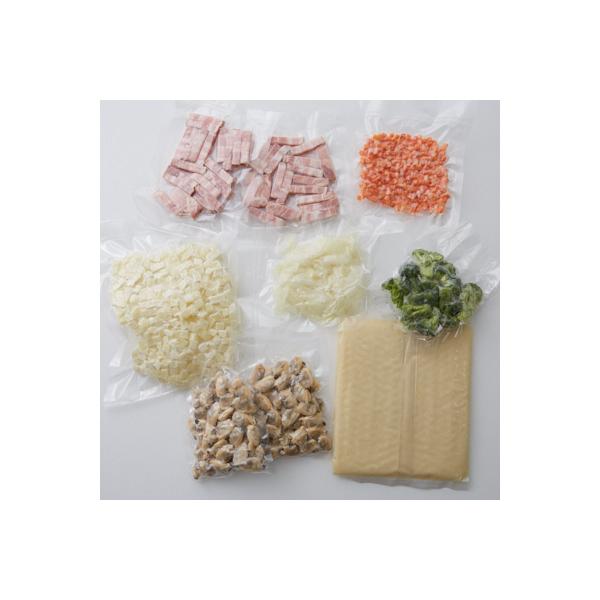 <冷凍4人前>きのこと鮭のクリームチーズチャウダー<カット済野菜・計量済調味料>