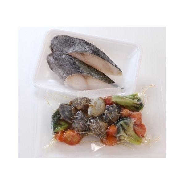 アクアパッツァと切身のセット(+銀だら2切)【冷凍でお届け】