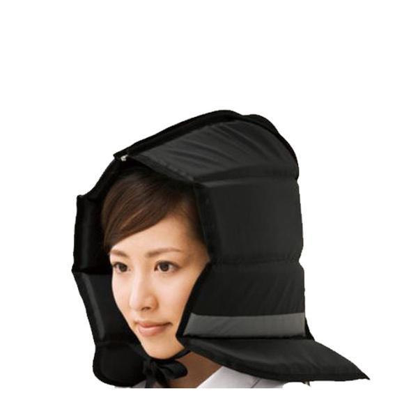 難燃加工 防災頭巾 クッションシート(座布団)にもなる 軽量 防災ずきん 反射材付