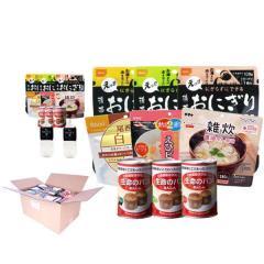2人用/3日分(18食)非常食セット【10年保存水付】