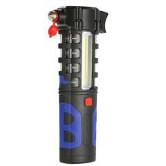 【ハンマーLEDライト】車載用 自宅用 防災グッズ 非常用緊急脱出用ツール