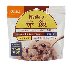 尾西食品「赤飯」5年保存食非常食