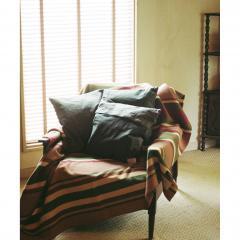 journal standard Furniture BORDER BLANKET RED