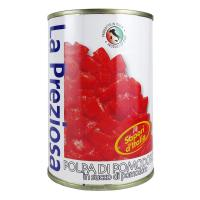 ラ・プレッツィオーザ ダイストマト缶 400g