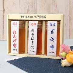 【クーポン利用で送料無料】国産 蜂蜜ギフト250g×3 国産 はちみつ