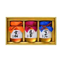 【送料無料】国産蜂蜜ギフト3本セット(500g×各1本)九州レンゲ蜂蜜・国産百花蜂蜜・国産みかん蜂蜜セット