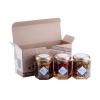 【送料無料】はにのみ&はにベジ 蜂蜜漬け2種お試しセット(ナッツの蜂蜜漬け2個、ドライトマトの蜂蜜漬け1個)