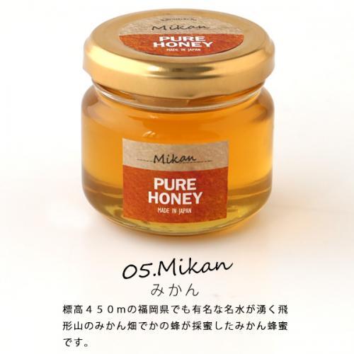 【クーポン利用で送料無料】国産 蜂蜜お試し【5個入り】セット