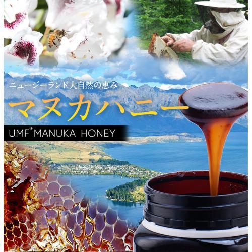 ニュージーランド産マヌカ蜂蜜UMF15+250g マヌカハニー
