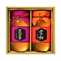 【送料無料】国産プレミアム蜂蜜ギフト(国産九州れんげ蜂蜜・国産みかん蜂蜜各1000g)