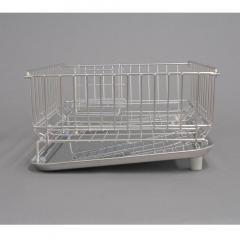 折り畳める食器かごタテ型 ステン箸立